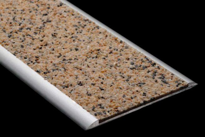 Insert aluminium mineral antiderapant S39S59