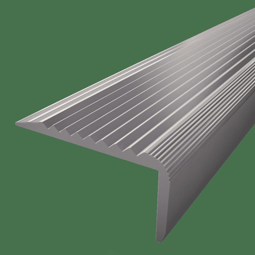 Nez De Marche Aluminium Et Antiderapant 40 Mm X 20 Mm X 3 X 3 M