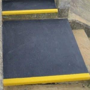 Palier d escalier antiderapant