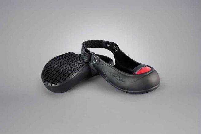 Sur-chaussure de securite coquee