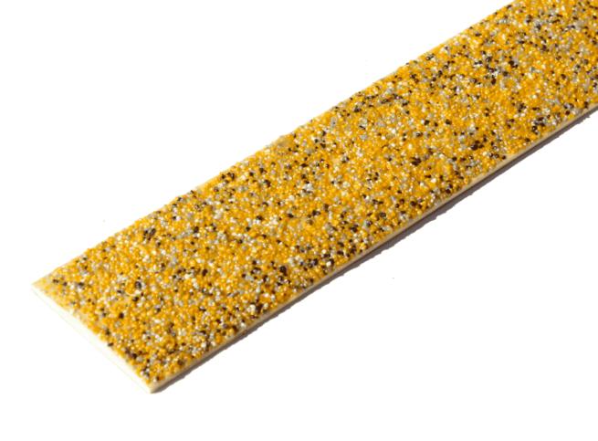 Lame antidérapante grp couleur mouchetée jaune
