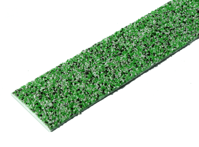 Lame antidérapante grp couleur mouchetée vert