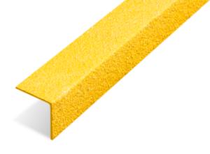 Nez de marche antidérapant jaune