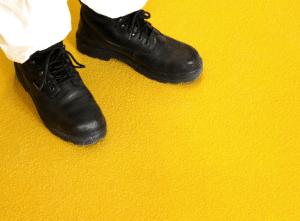 Plaque antidérapante grp couleur jaune